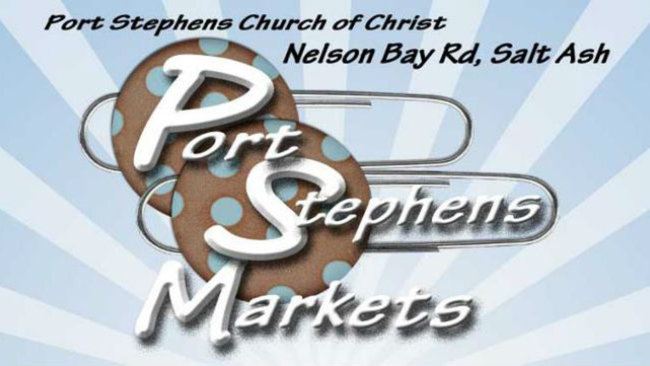 Download Port Stephens Markets leaflet